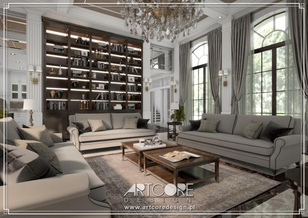luksusowa rezydencja aranżacja
