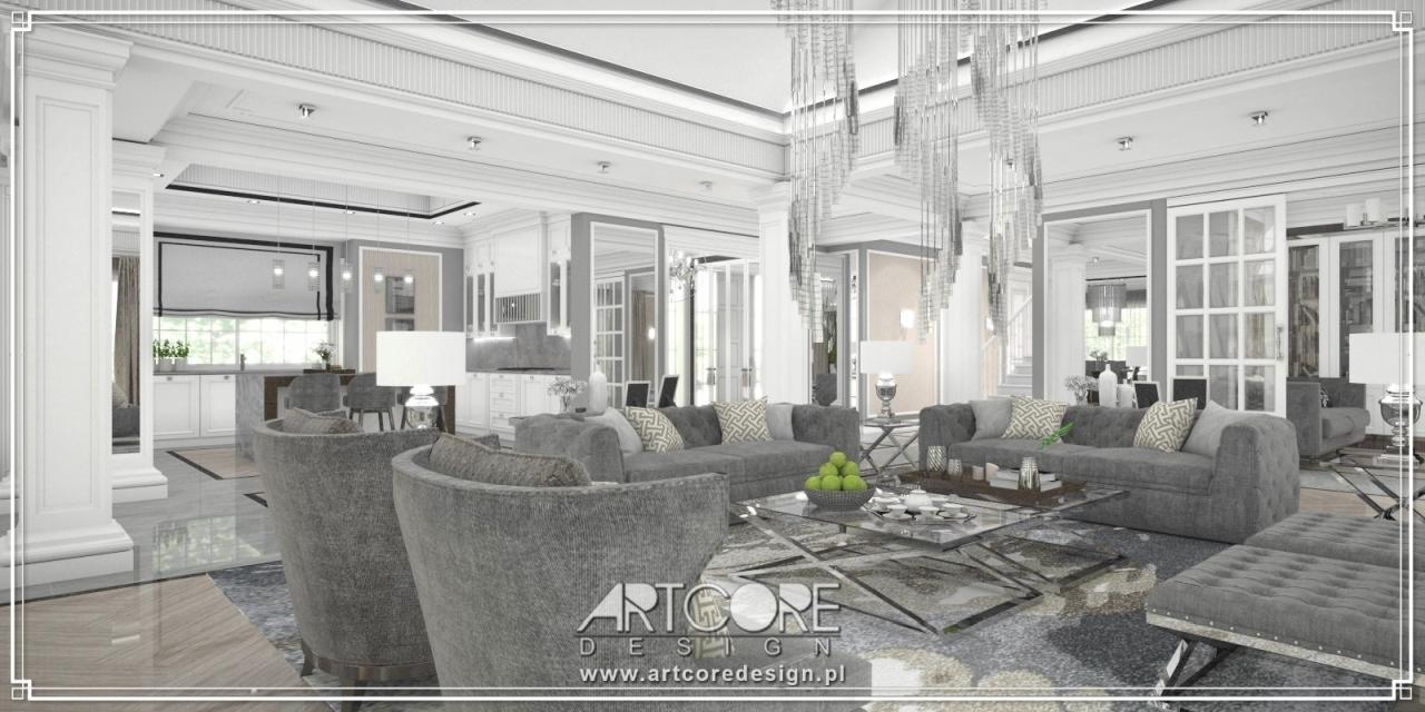 luksusowa rezydencja architekt wnętrz