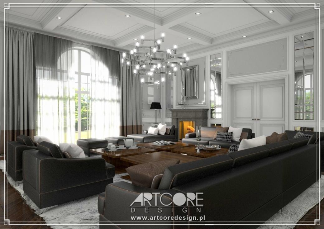 luksusowa rezydencja wnętrza