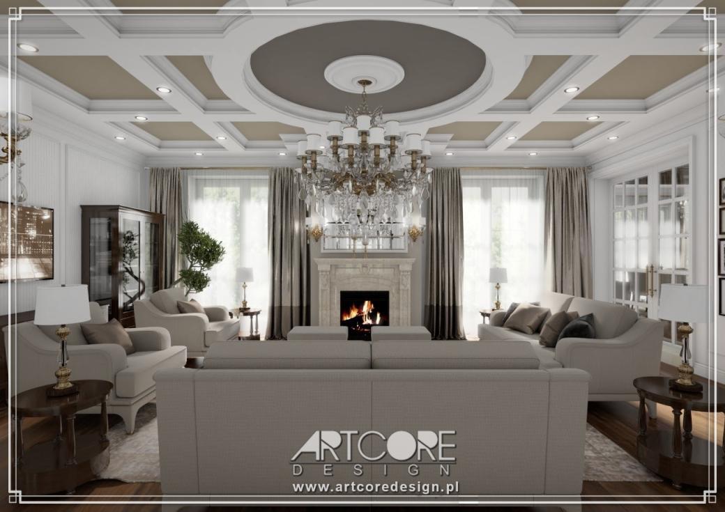 luksusowy dom architekt wnętrz