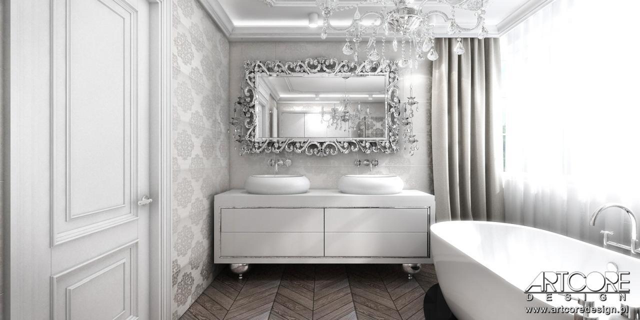 projektowanie wnętrz luksusowa łazienka
