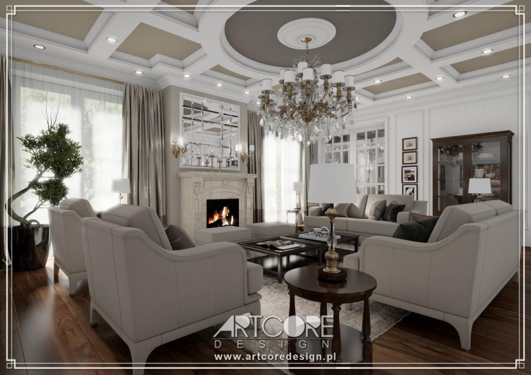wnętrza luksusowej rezydencji